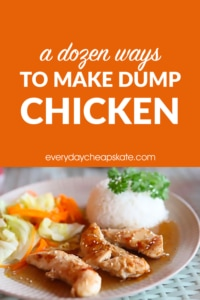 A Dozen Ways To Make Dump Chicken