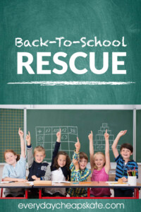 Back-To-School Rescue
