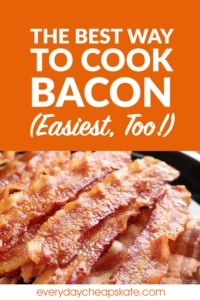 The Best Way to Cook Bacon (Easiest, Too!)