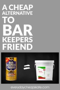 A Cheap Alternative to Bar Keepers Friend
