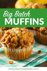Big Batch Muffins