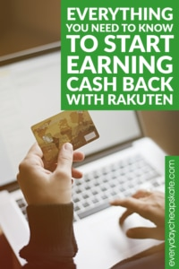 I must confess that for quite some time I mistakenly assumed Rakuten was something it is not—some kind of scam. Then I wised up. I looked into it. I asked the questions, did the research and hit myself in the forehead. Why hadn't I been using Rakuten all along? I can't imagine how much cash-back money I've left on the table over the years since Rakuten (formerly Ebates) launched in 1999. Here is everything you need to know to get started! #rakuten #cashback #save #money #coupon