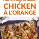 Chicken À L'Orange