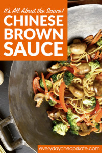 It's All About the Sauce—Chinese Brown Sauce!