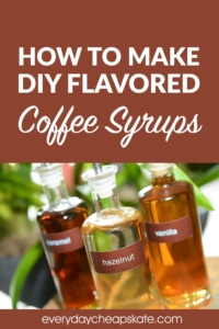 How to Make DIY Flavored Coffee Syrups