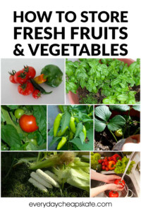 A Crash Course in How to Store Fresh Fruits and Vegetables