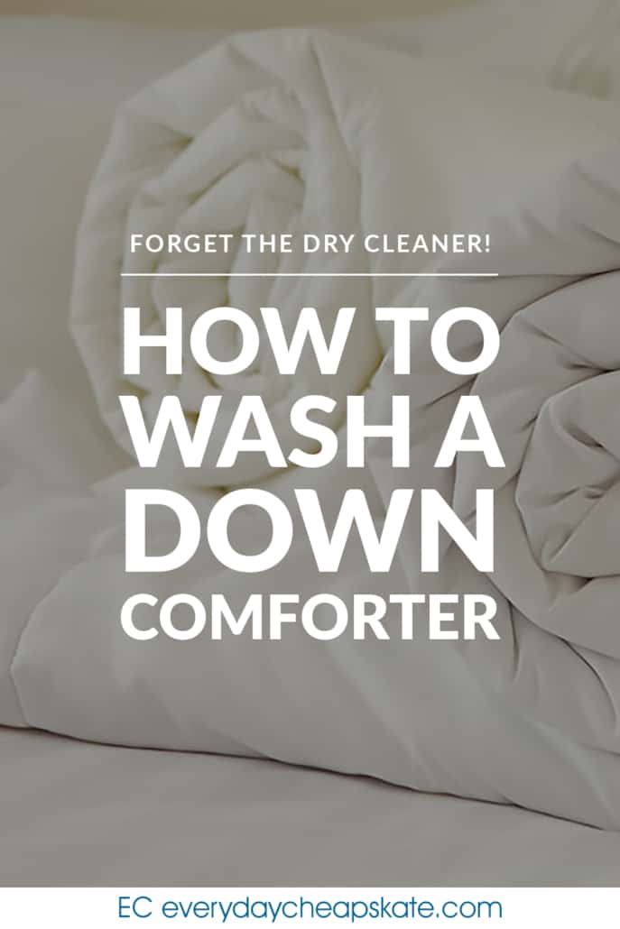 Pin - How to Wash a Down Comforter