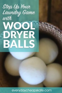Step Up Your Laundry Game with Wool Dryer Balls