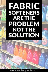 Fabric Softeners are the Problem Not the Solution