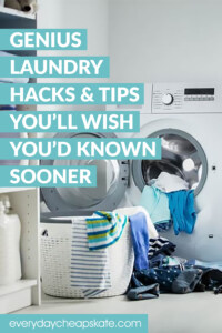 Genius Laundry Hacks And Tips You'll Wish You'd Known Sooner