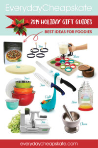 Everyday Cheapskate 2019 Holiday Gift Guide: Best Ideas for Foodies
