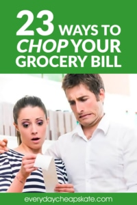 23 Ways to Chop Your Grocery Bill