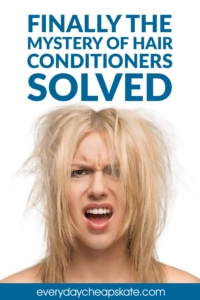 Finally the Mystery of Hair Conditioners Solved