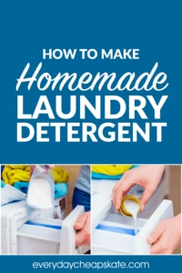 How to Make the Best Homemade Laundry Detergent