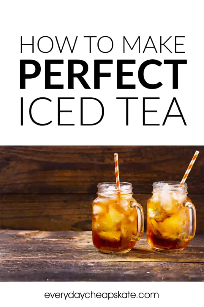 How to Make Perfect Iced Tea