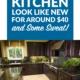 Make Your Kitchen Look Like New for Around $400 and Some Sweat