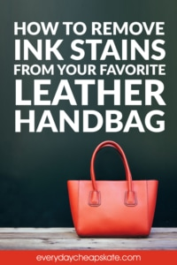 How to Remove Ink Stains from your Favorite Leather Handbag