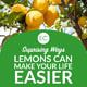 Surprising Ways Lemons Can Make Your Life Easier