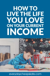 How to Live the Life You Love on Your Current Income