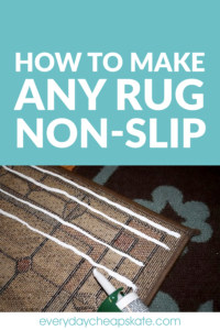 How to Make Any Rug Non-Slip
