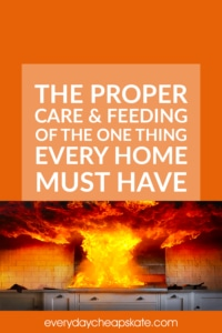 The Proper Care And Feeding Of The One Thing Every Home Must Have