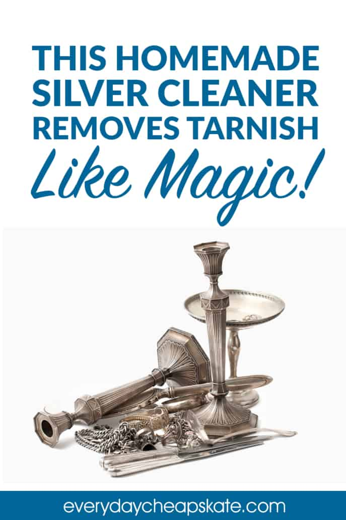 This Homemade Silver Cleaner Removes Tarnish Like Magic