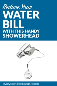 Reduce Your Water Bill with This Handy Showerhead