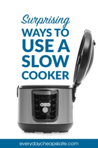 Surprising Ways to Use a Slow Cooker that Have Nothing To Do with Food
