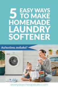 5 Easy Ways to Make Safe Homemade Laundry Softener