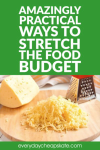 Amazingly Practical Ways to Stretch the Food Budget