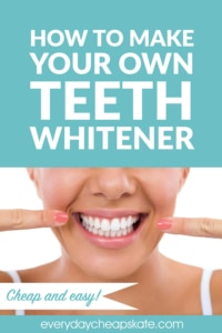 How To Make Your Own Teeth Whitener—Cheap and Easy