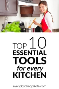Pin - Top 10 Essential Tools for Every Kitchen