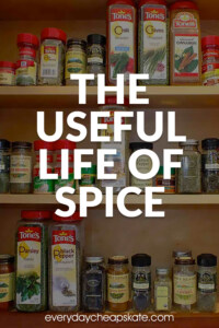 The Useful Life of Spice plus How to Repurpose at the End