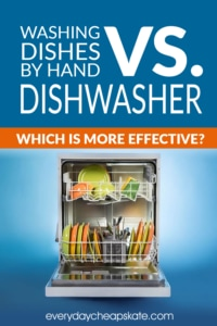 Washing Dishes By Hand Vs. Dishwasher—Which Is More Effective?