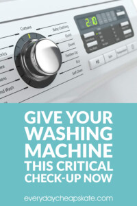 Give Your Washing Machine This Critical Check-Up Now