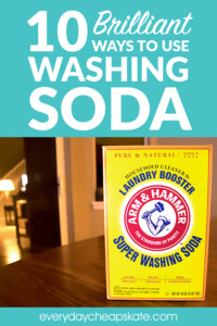 10 Brilliant Ways to Use Washing Soda That Will Make Your Life Easier