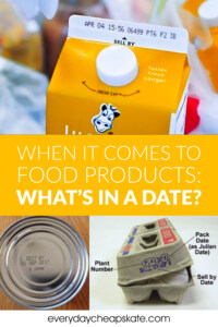When It Comes To Food Products—What's In A Date?