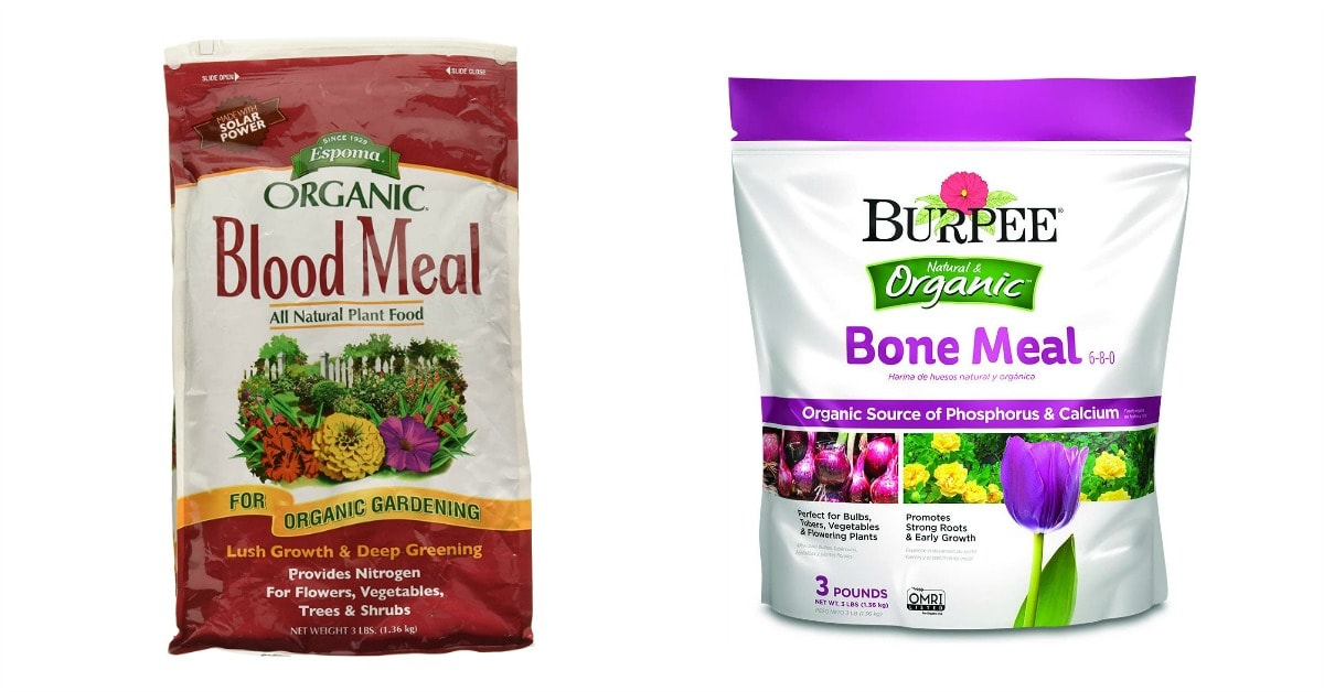 blood meal bone meal repel rabbits