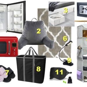Best Inexpensive Essential College Dorm Gear