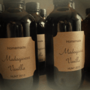 Mary's 2013 homemade Madagascar vanilla extract