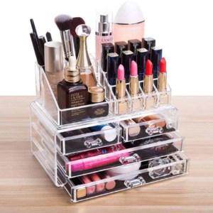 beauty supplies organized