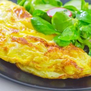 bbq chicken omelet