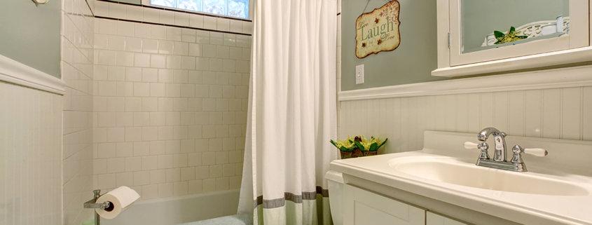 clean shower bathroom sparkling
