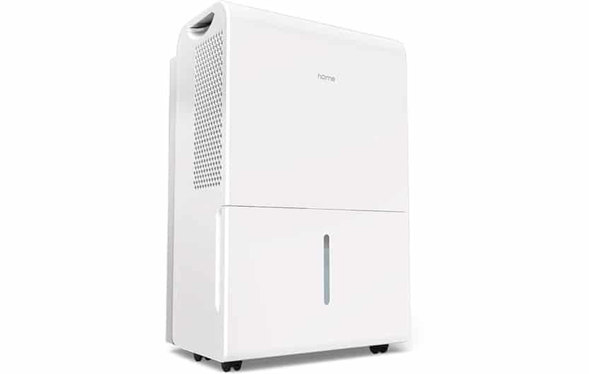 dehumidifier on white background