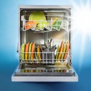 sparkling clean dishwasher