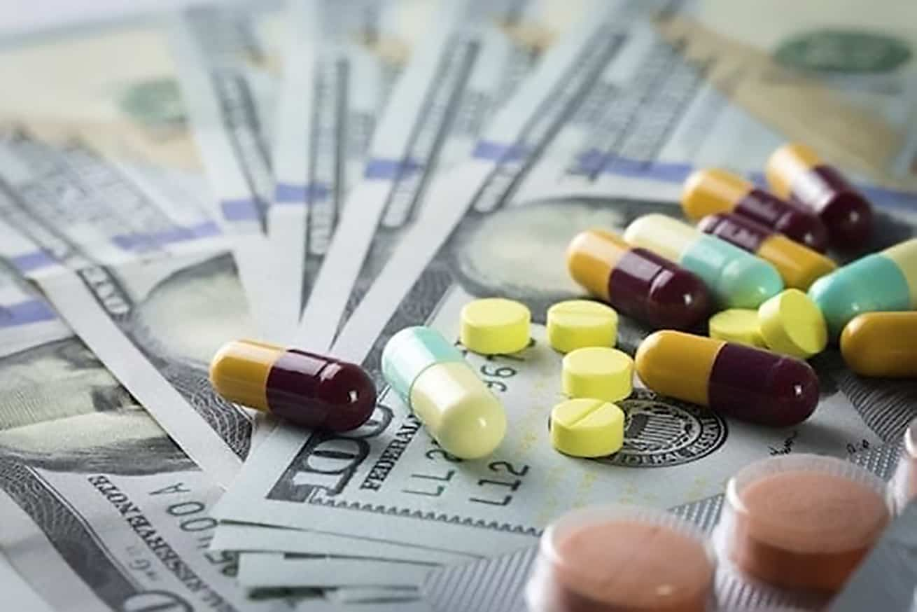 USdollars under a variety of prescription drugs