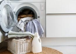dull gray laundry