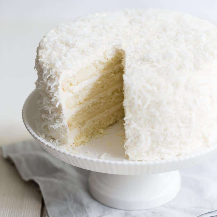 3-day coconut cake