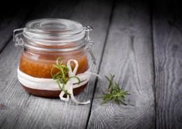 Body Scrub and Coconut oil