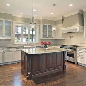 kitchen island wood floor beautiful kitchen